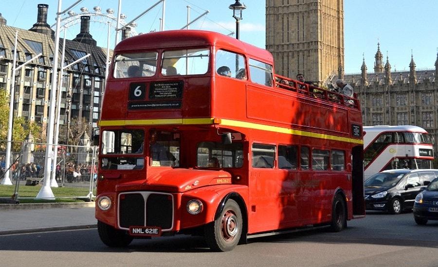 Double Decker Bus Tour London Christmas Day